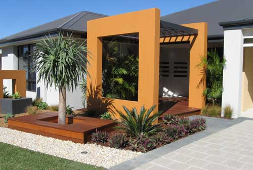 Sustainable Landscaping: Reusing non-degradable Materials on Non Grass Backyard Ideas id=42141
