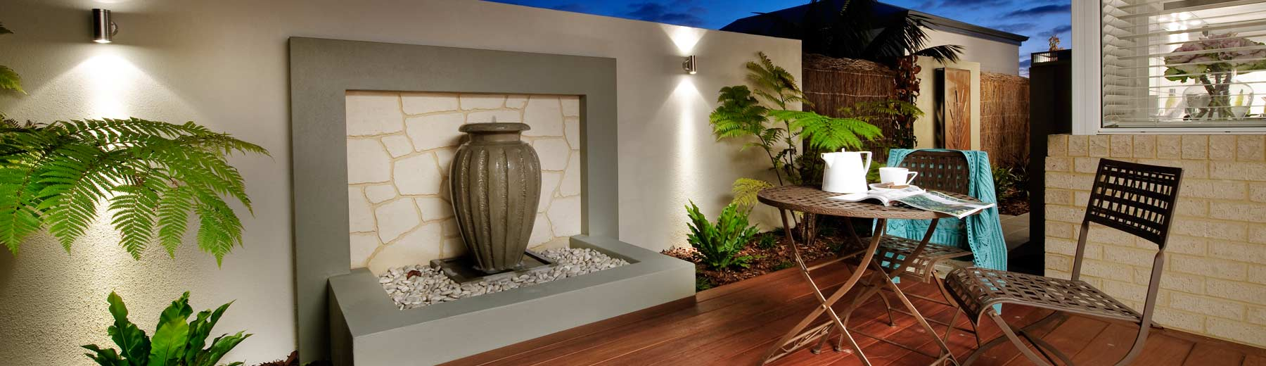 Landscape garden gallery landscaping design landscape photos for Front garden designs perth