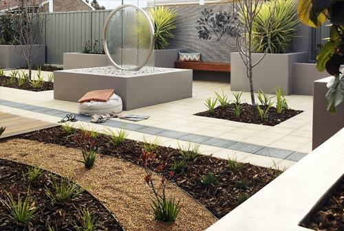 Water features perth water walls ponds garden water for Tranquil garden designs