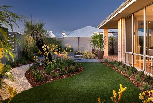 Residential landscaping perth home gardens landscape for Residential landscaping ideas