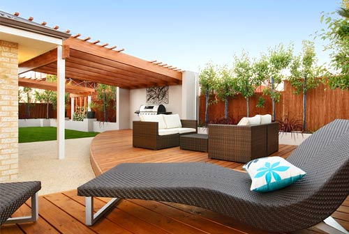 Display Home Garden Ideas : Landscaping perth professional garden landscapers landscapes wa