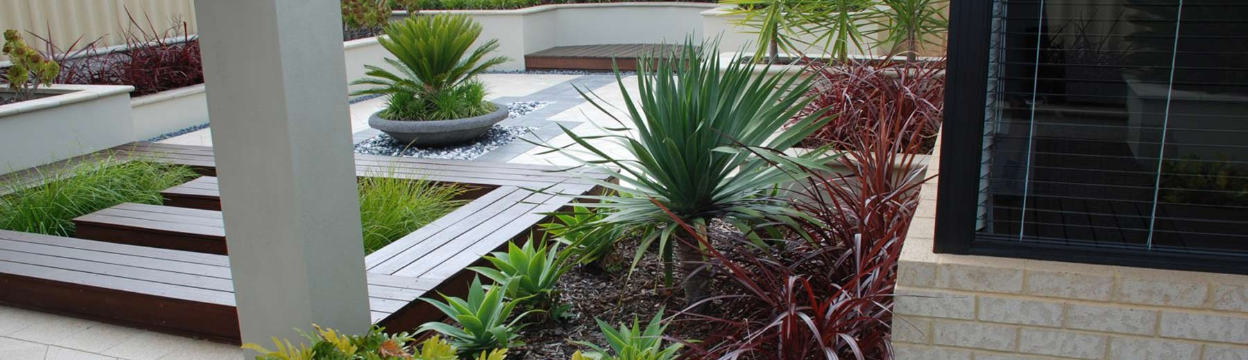 Residential landscaping perth home gardens landscape for Front garden designs perth