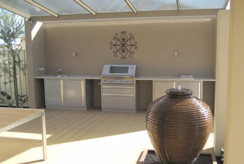 outdoor kitchens perth | outdoor living - perth wa