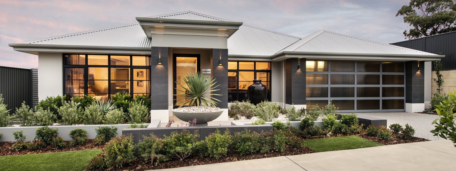 Front yard designs western australia modern house on the for Beach house designs western australia