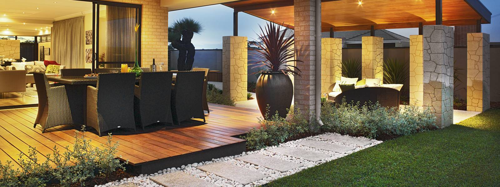 Landscaping perth professional garden landscapers for Back garden designs australia